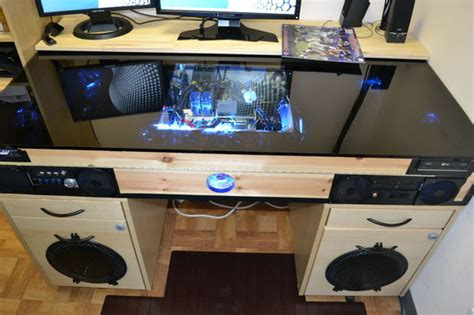 computer desk with built in computer desk with built in pc all