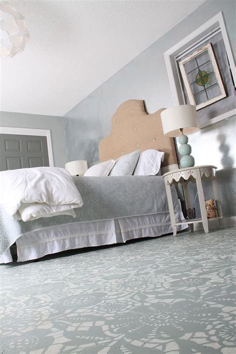 chalk paint franklin tn hometalk goodbye carpet hello stenciled floor with