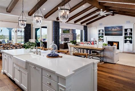kitchen family room floor plans 25 best ideas about open floor plans on open