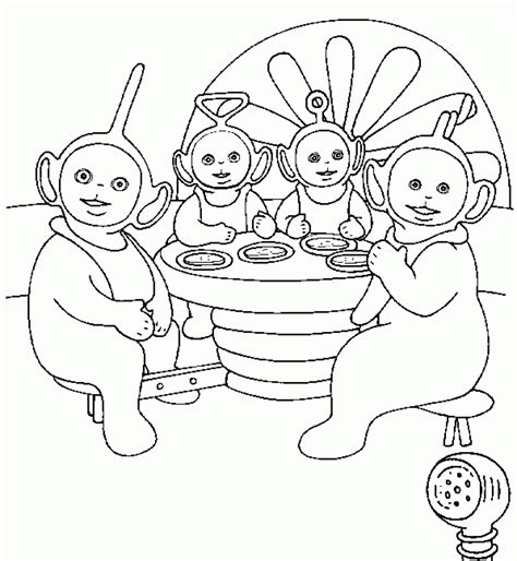 coloring book pictures to print free printable teletubbies coloring pages for