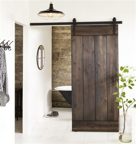 barn door ideas for bathroom bring some country spirit to your home with interior barn doors