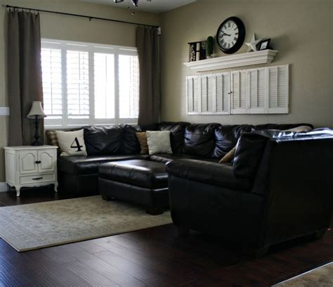 paint colors for living room with black leather furniture 11 best images about for the home