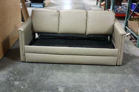 used rv sleeper sofa rv furniture used rv flexsteel ultra leather sleeper sofa
