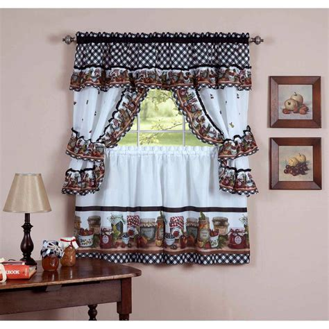 curtain for kitchen 20 useful ideas of rooster kitchen curtains as part of
