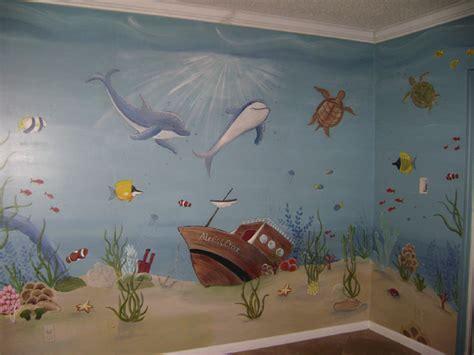 tropical reef murals children s murals in palm county florida mural mural children