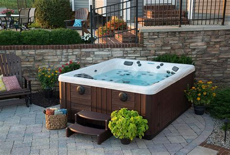 tub backyard ideas backyard ideas for tubs and swim spas