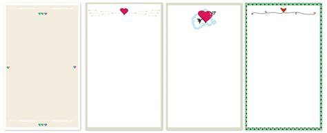 make note cards free s day printable note cards dari design studio