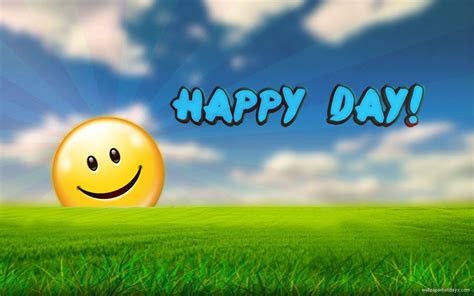 A Happy Day Quotes Rhymes And Poems