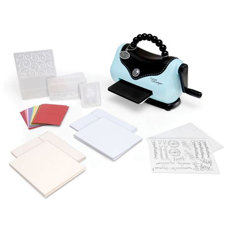 card die cutting machines texture boutique embossing machine beginners kit sizzix