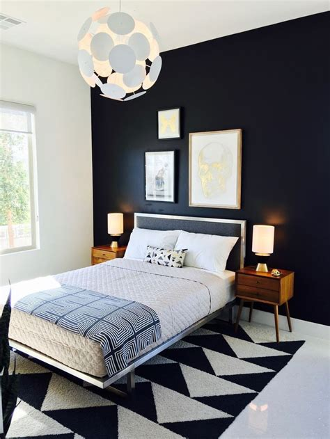 black and white modern bedrooms best 25 mid century bedroom ideas on