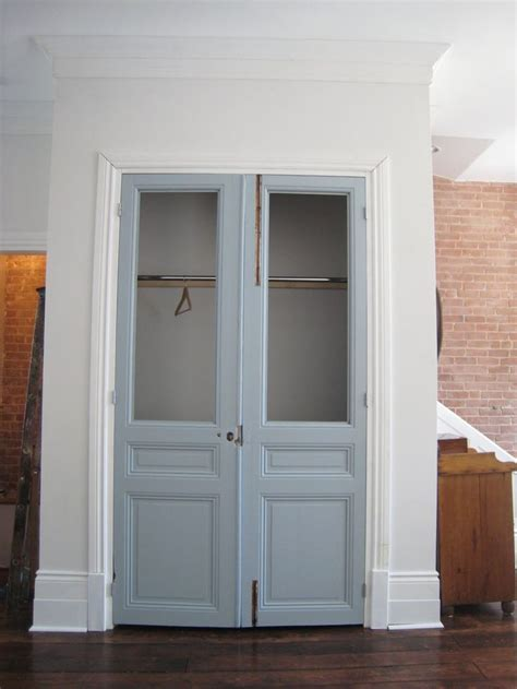 closet doors with glass closet doors closet door with blue color and clear