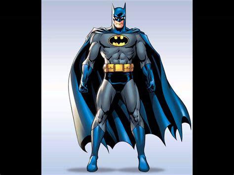 of batman batman wore the grey and blue