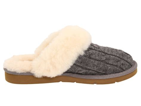 ugg cozy knit ugg cozy knit heathered grey zappos free shipping