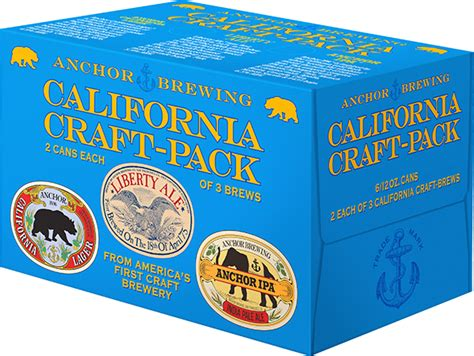 craft packs for california craft brewery news anchor brewing