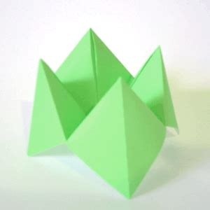 fortune origami beautifully contained fortune teller paper lantern