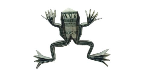 origami money frog a money origami frog not bad for a dollar origami