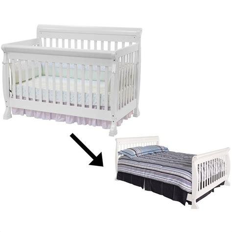 davinci kalani 4 in 1 convertible crib with full bed rails