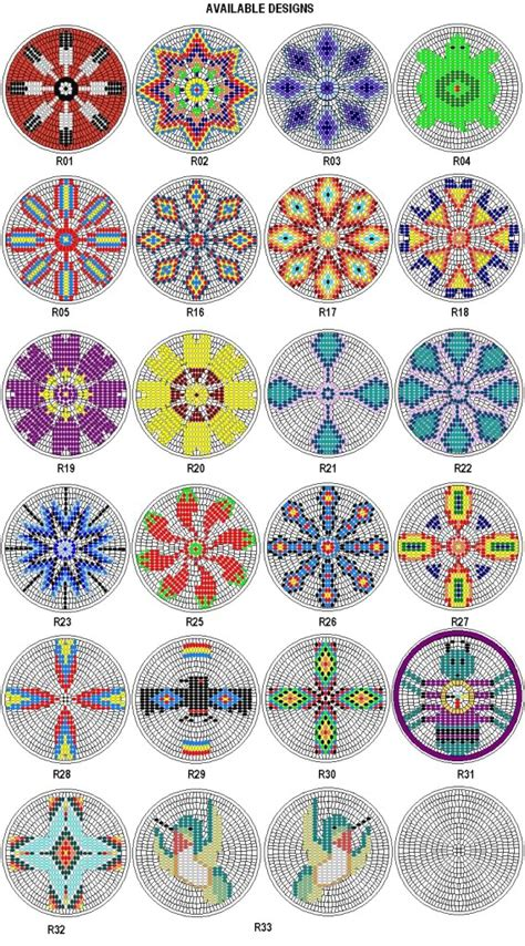 beading designs american beading on bead loom patterns