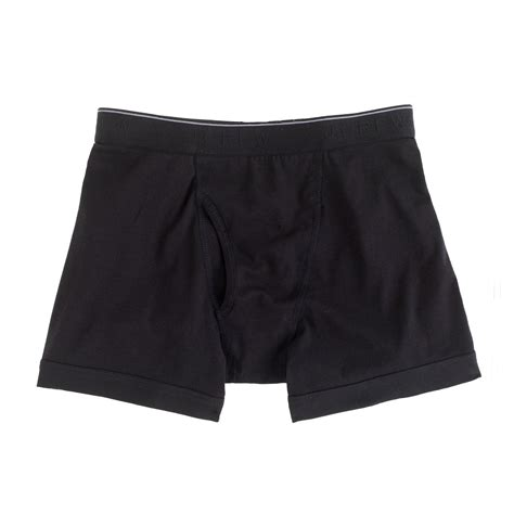 knit boxer briefs j crew knit boxer briefs in black for lyst