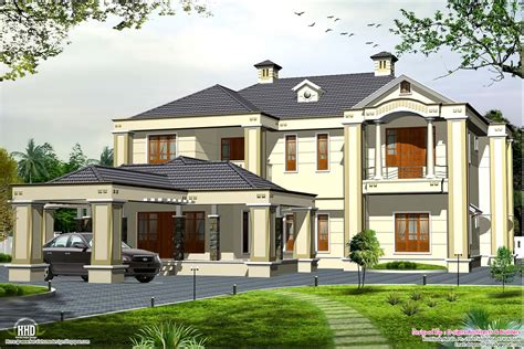 style house colonial style 5 bedroom style house kerala