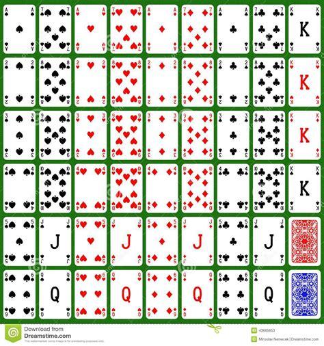 card set card set generated hires texture stock