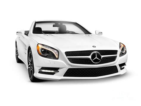 Mercedes Luxury Car by White Mercedes Sl550 Roadster Convertible Luxury Car