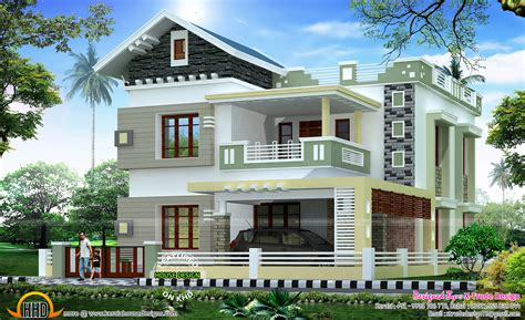 kerala home design 2581 sq ft house by x trude design kerala home design