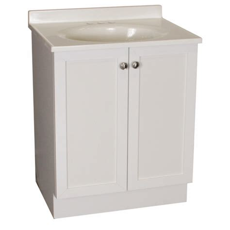 lowes white bathroom vanity cheap rsi estate white bath vanity with sink counter from lowes vanities bathroom furniture