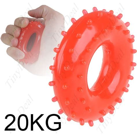 hebrew rubber sts 20kg grip ring rubber grip strength exerciser hsi