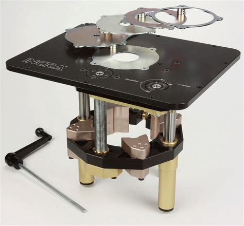 router tables reviews review incra mast r lift ii router lift router table
