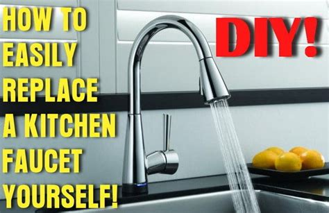 how replace kitchen faucet how to easily remove and replace a kitchen faucet removeandreplace