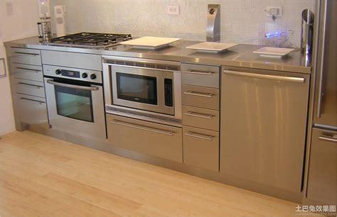 painting ideas for metal kitchen cabinets 不锈钢橱柜装修图片 土巴兔装修效果图