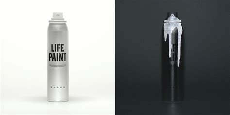 glow in the paint volvo volvo paint invisible safety spray paint for your
