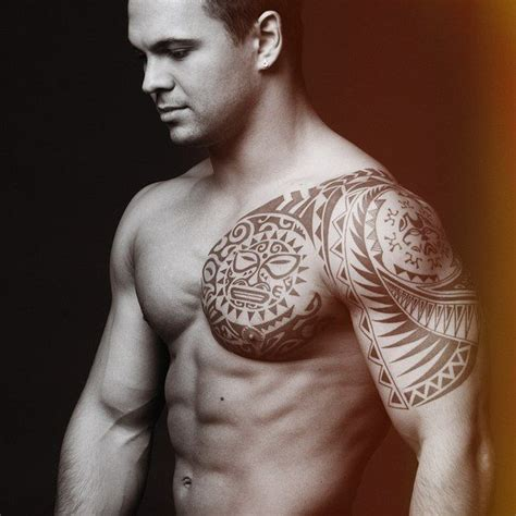 shoulder tattoos for men designs ideas and meaning