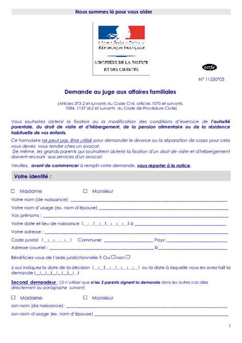 Modification Jugement Jaf by Demande De R 233 Vision Modification Ou Suspension De La