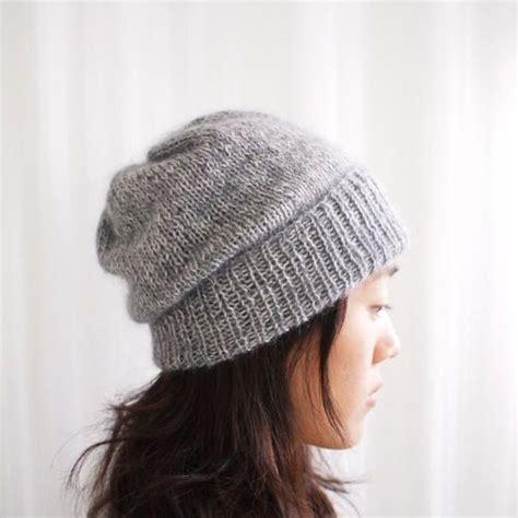 basic knit hat pattern 1000 ideas about knit hat patterns on knit