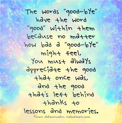 words on them the words quot bye quot the word quot quot within them for