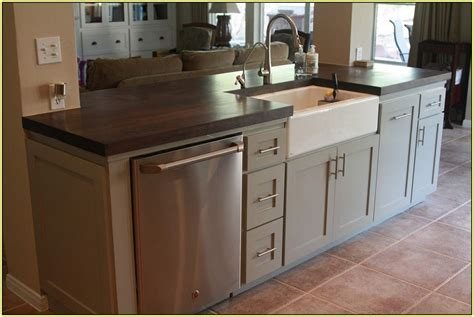kitchen islands with sinks kitchen island with sink and dishwasher for your home