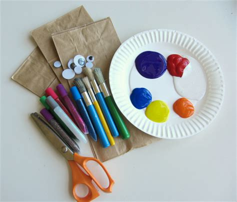 paper bag fish craft paper bag jellyfish craft and color mixing no time