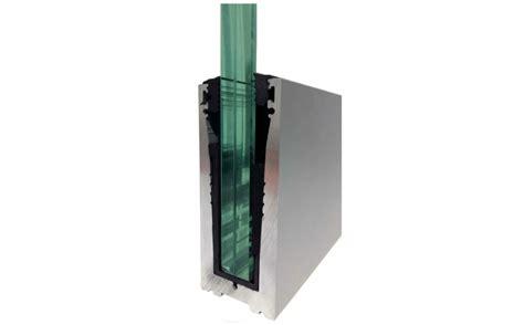 barandilla de aluminio barandilla de cristal orizzonte aluminio felix
