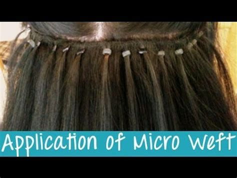 micro bead hair extensions pros and cons micro weft hair extensions application instant