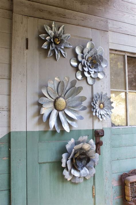 metal garden flowers outdoor decor the 25 best metal wall ideas on metal