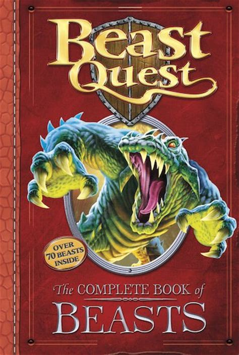 the beast picture book beast quest the complete book of beasts scholastic