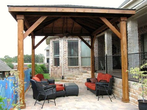 patio design plans free free standing wood patio cover plans home design ideas