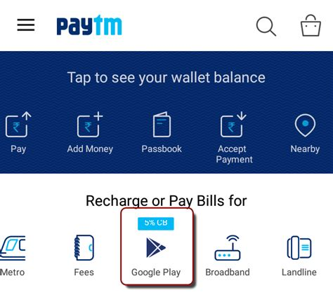 make payment to store card how to make a play store payment with paytm