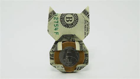 dollar bill origami cat origami money cat jo nakashima