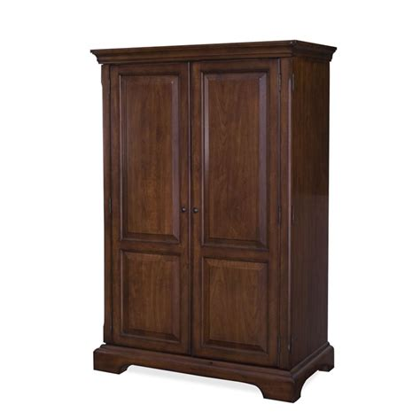 computer armoire furniture cantata computer armoire in burnished cherry 4985