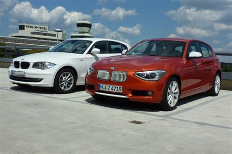 Bmw Ct by Side By Side Bmw 1 Series E87 Vs 2012 Bmw 1 Series