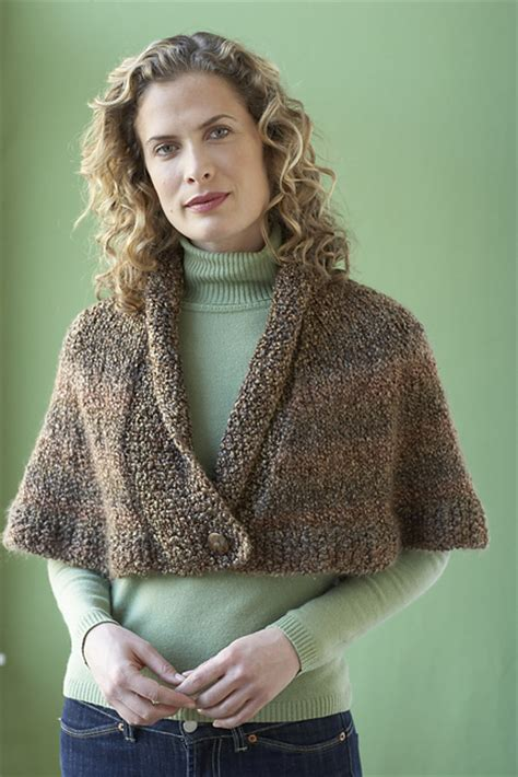 knit capelet capelet knitting patterns in the loop knitting