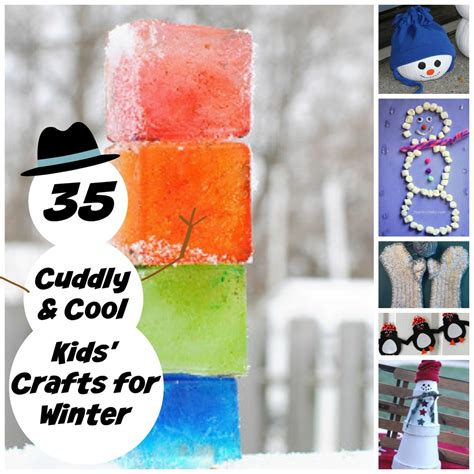 crafts for 35 cuddly and cool crafts for winter